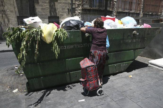 רק 51.8% מתושבי ירושלים משתתפים בכוח העבודה (צילום: נתי שוחט, פלאש 90)