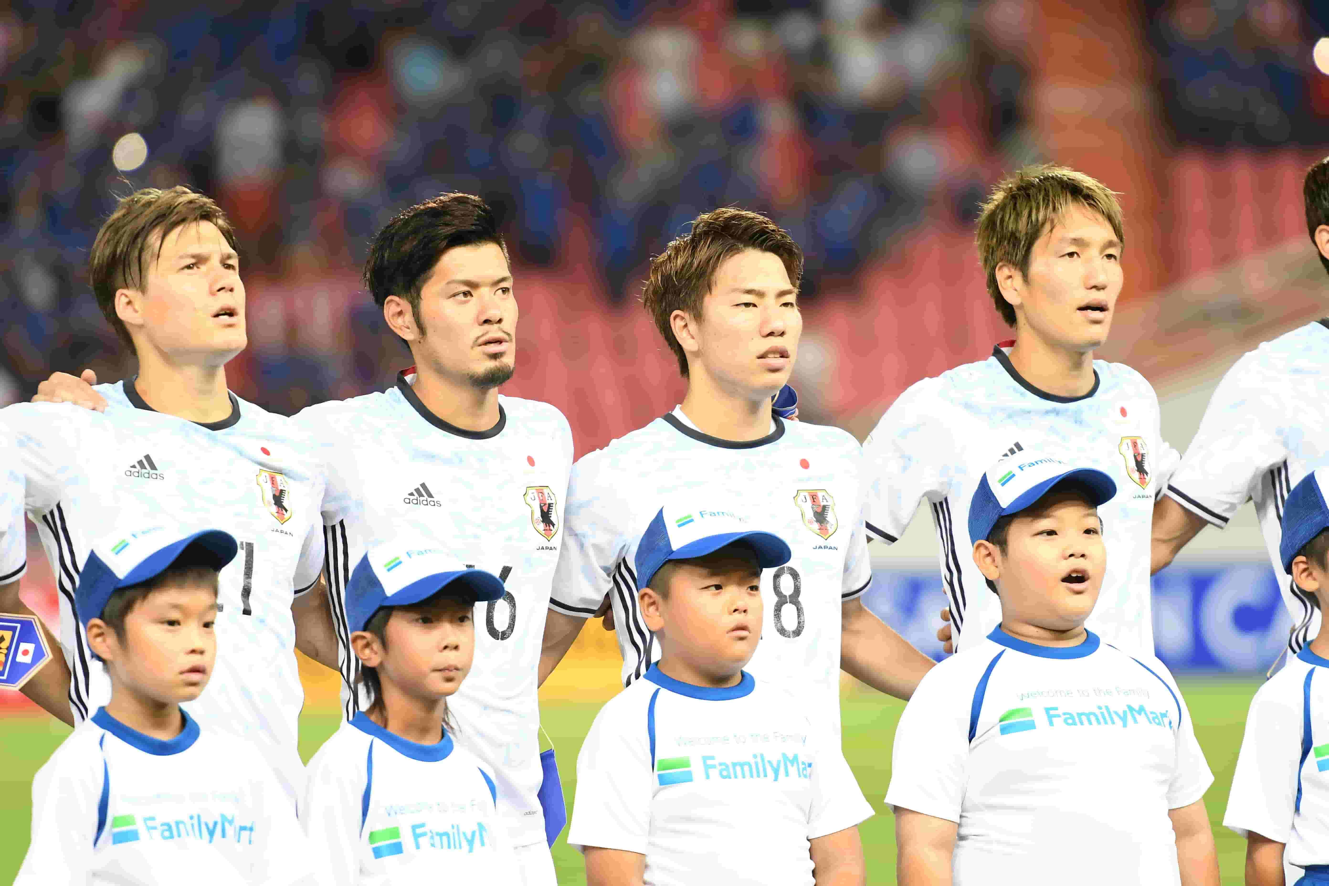 יפן במשחקי מוקדמות גביע העולם נגד תאילנד, 2016