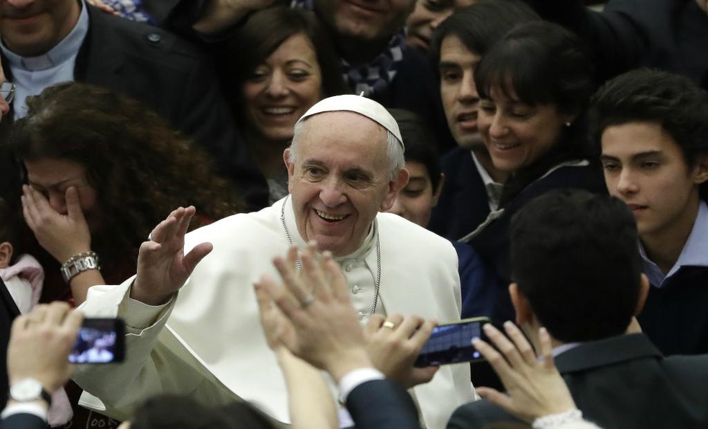 האפיפיור פרנציסקוס. צילום: AP