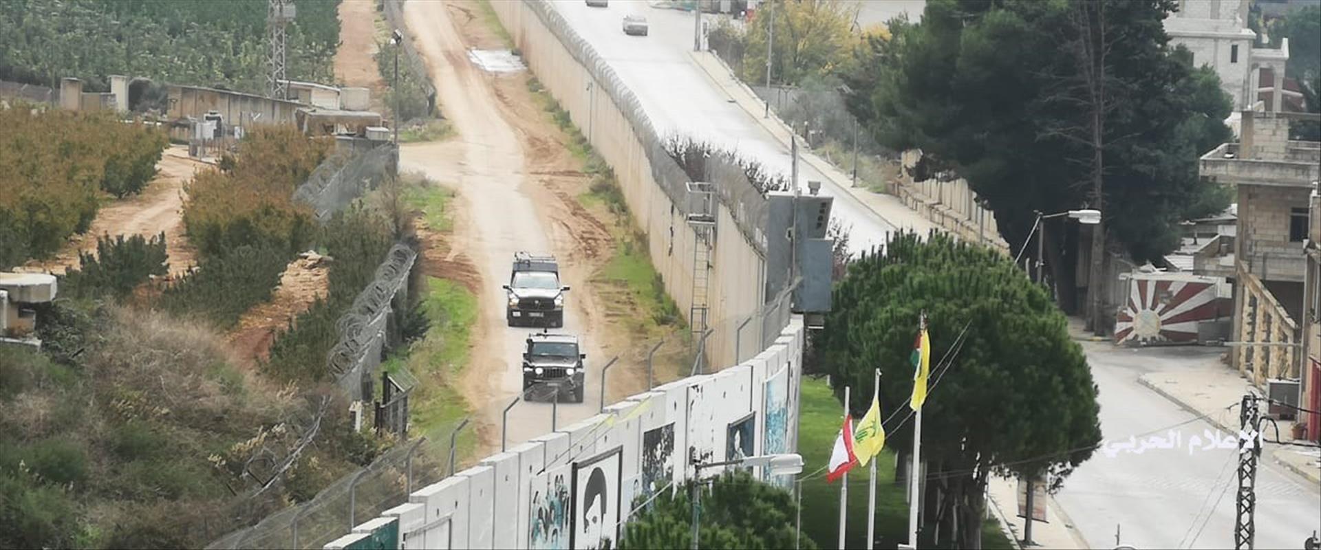 """כוחות צה""""ל על גבול לבנון"""