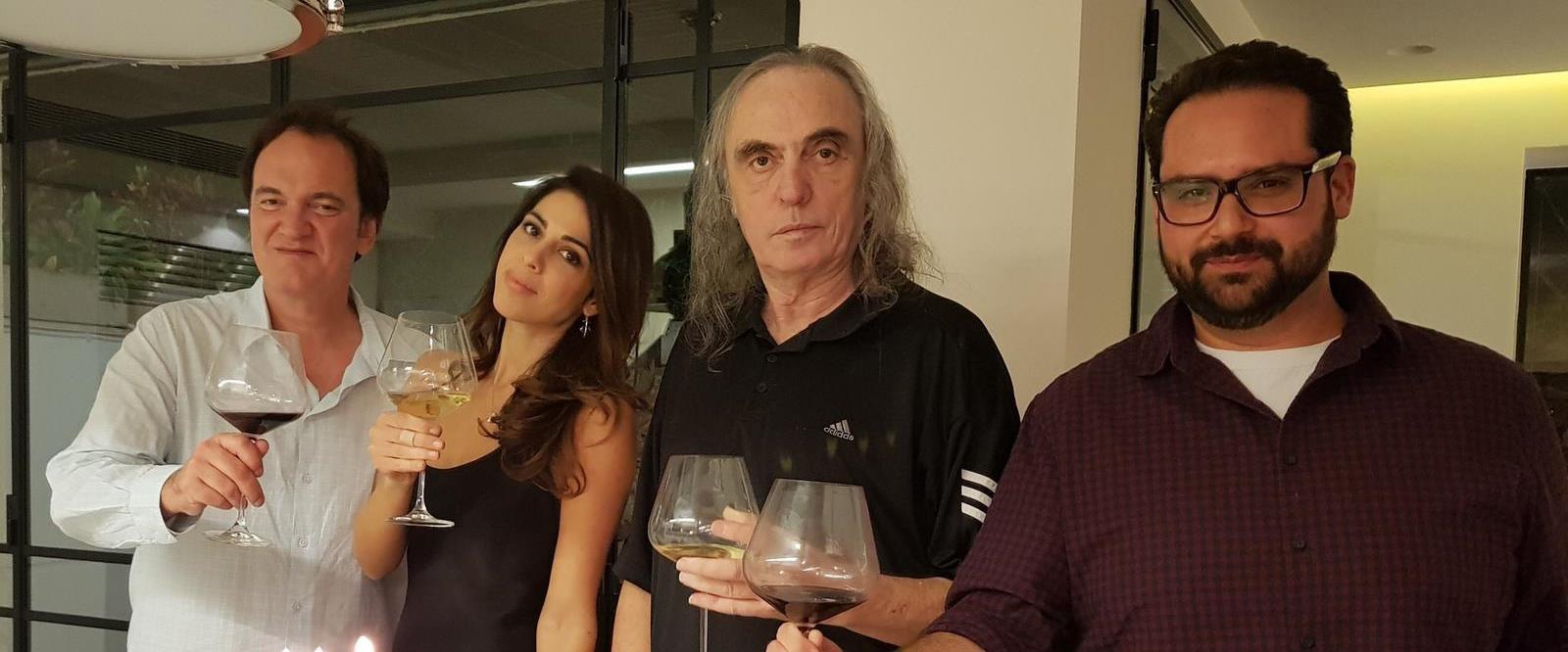צביקה פיק, דניאלה פיק וקוונטין טרנטינו