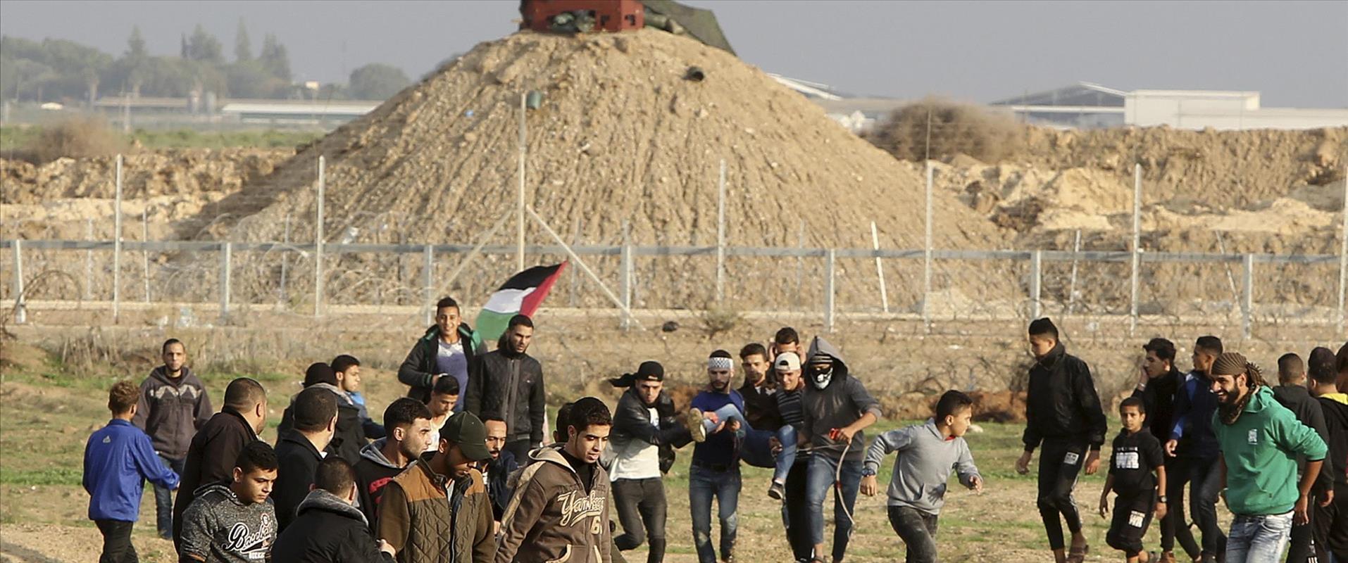 הפגנות אלימות בגבול עזה