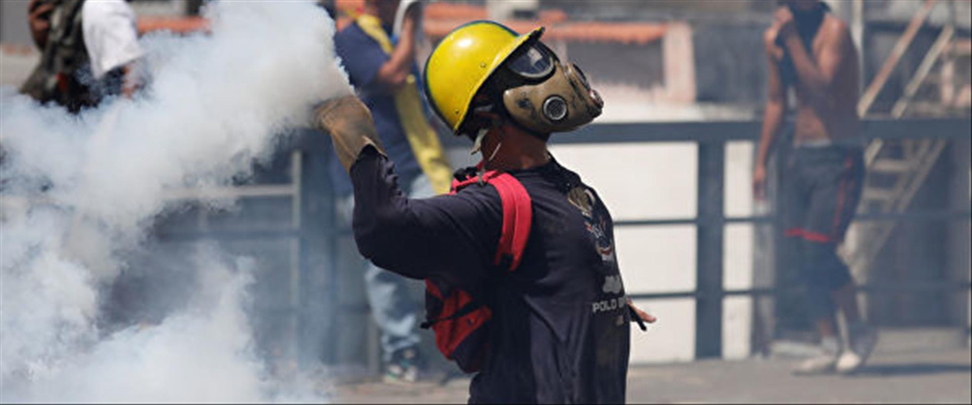 מפגין בוונצואלה