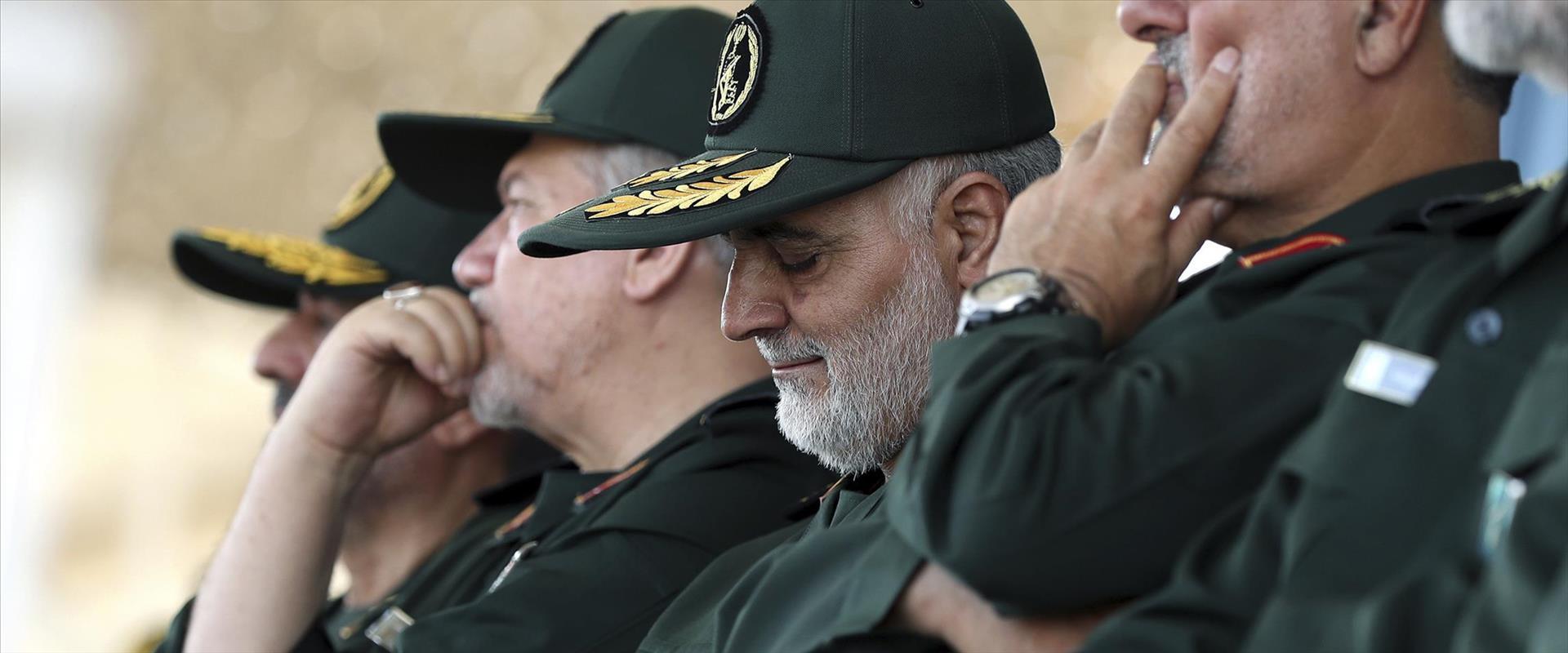 מפקד כוח אל-קודס במשמרות המהפכה קאסם סולימאני