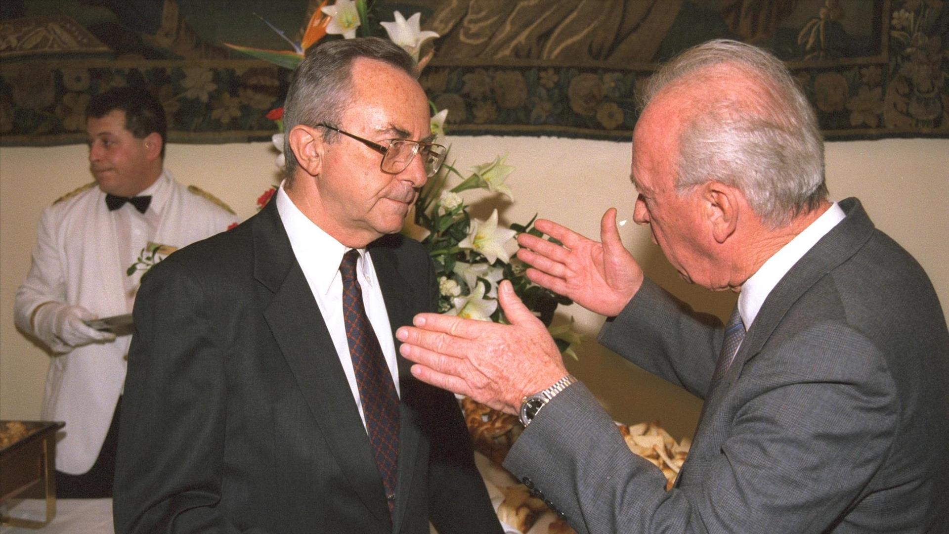 ארנס ויצחק רבין, 1992