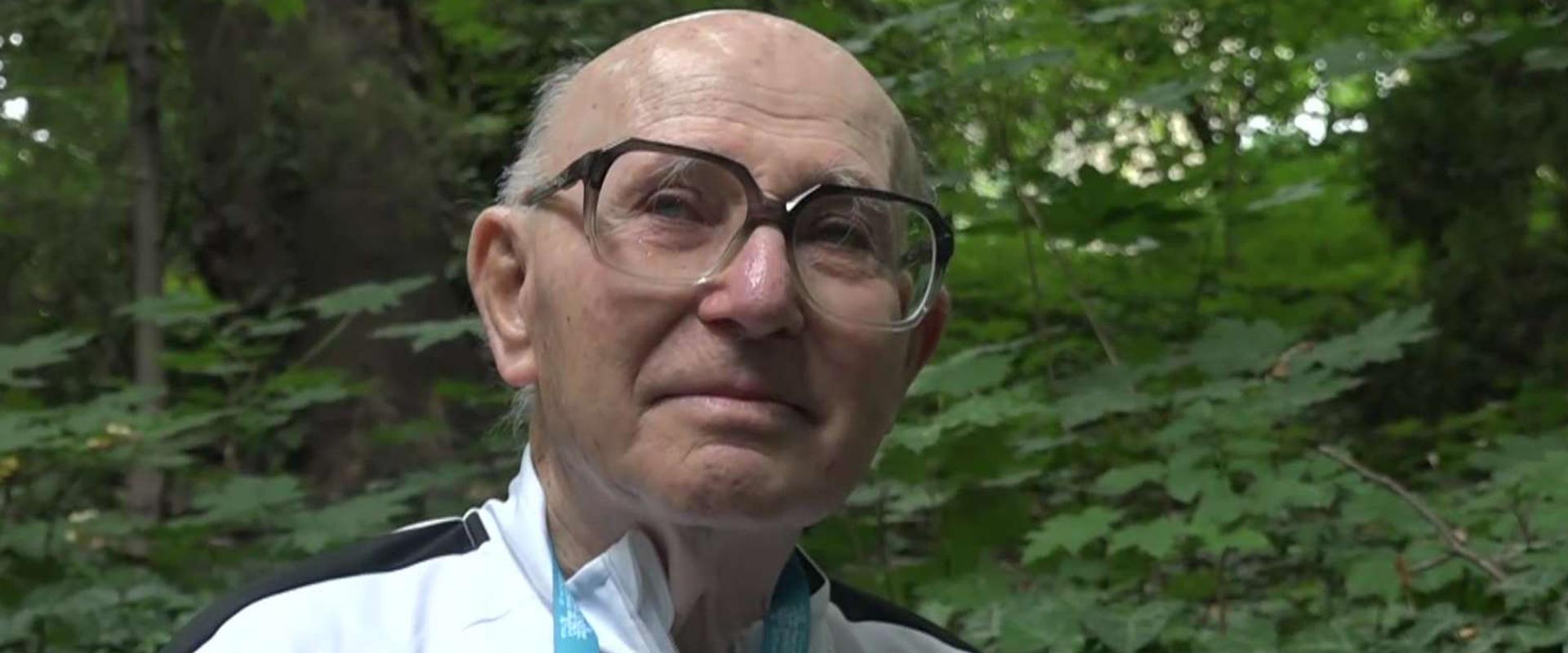 הספורטאי האולימפי ששרד את השואה ולא עוצר