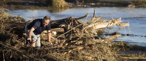 """נזקי סופת הטייפון """"האגיביס"""" שהיכתה ביפן"""