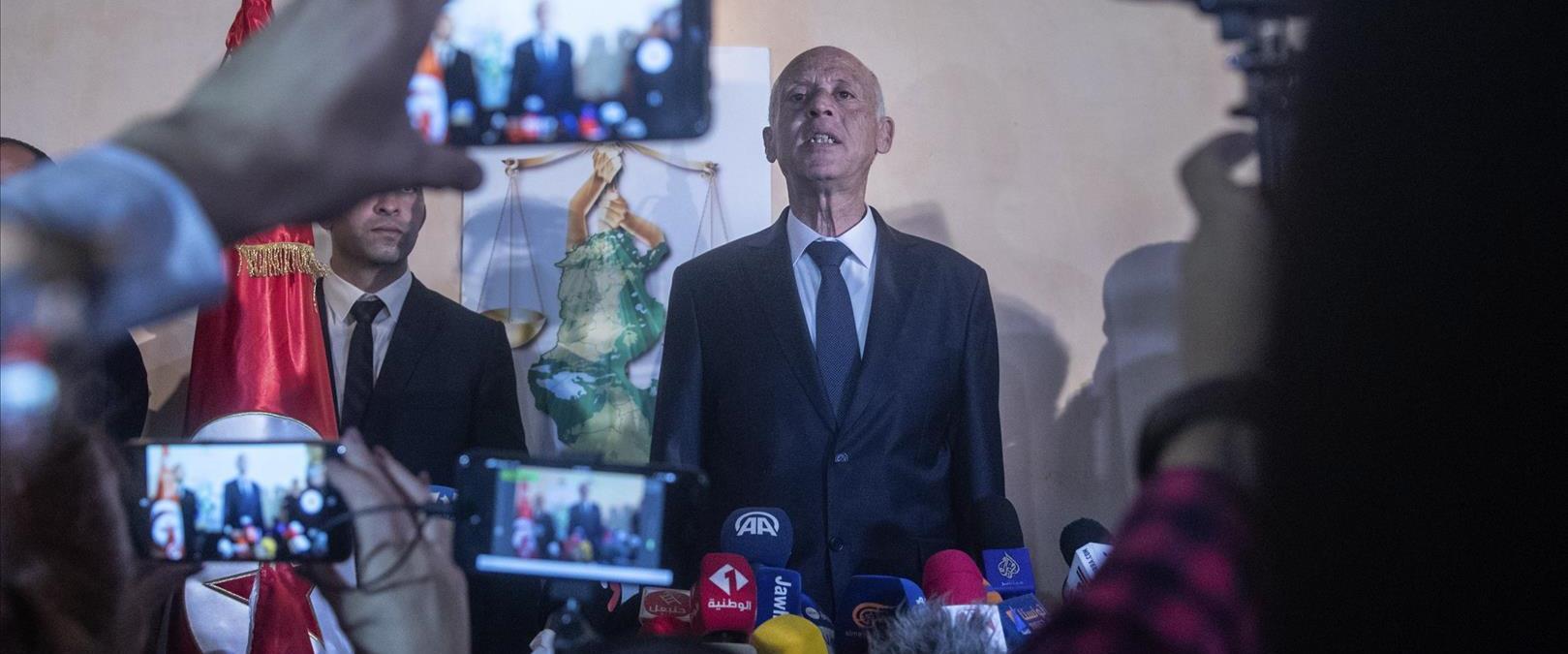 נשיא תוניסיה הנבחר, קאיס סעיד