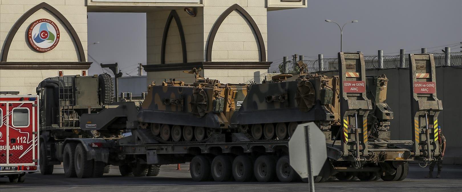 המבצע הצבאי של טורקיה בסוריה נגד הכורדים