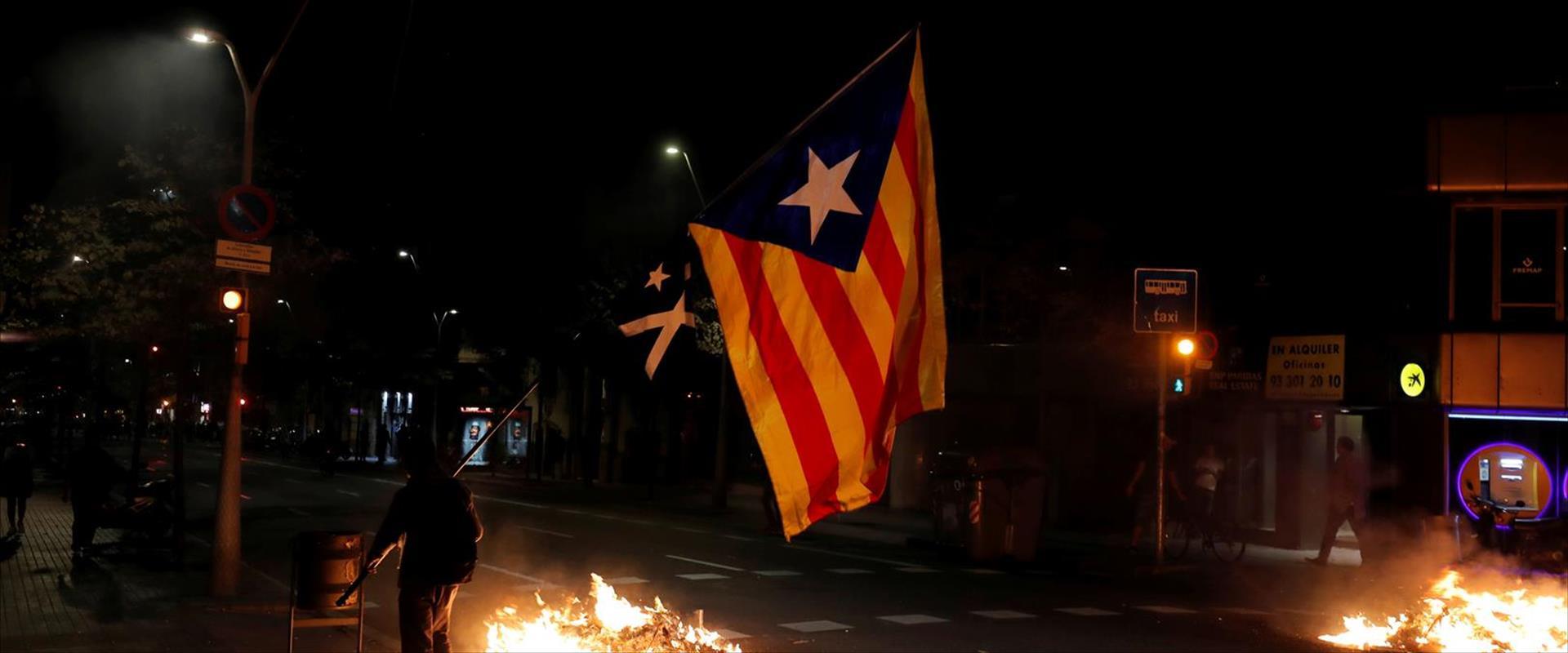 הפגנות בברצלונה