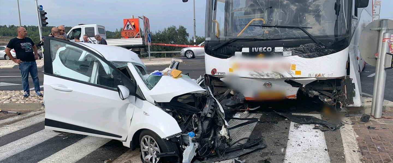 תאונת דרכים בצומת אבליים 26.10.19