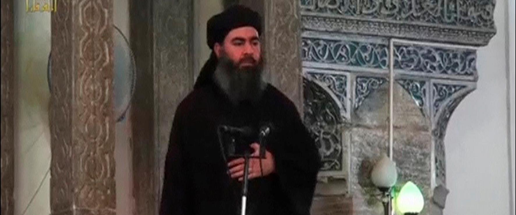 מנהיג דאעש אבו בכר אל-בגדדי