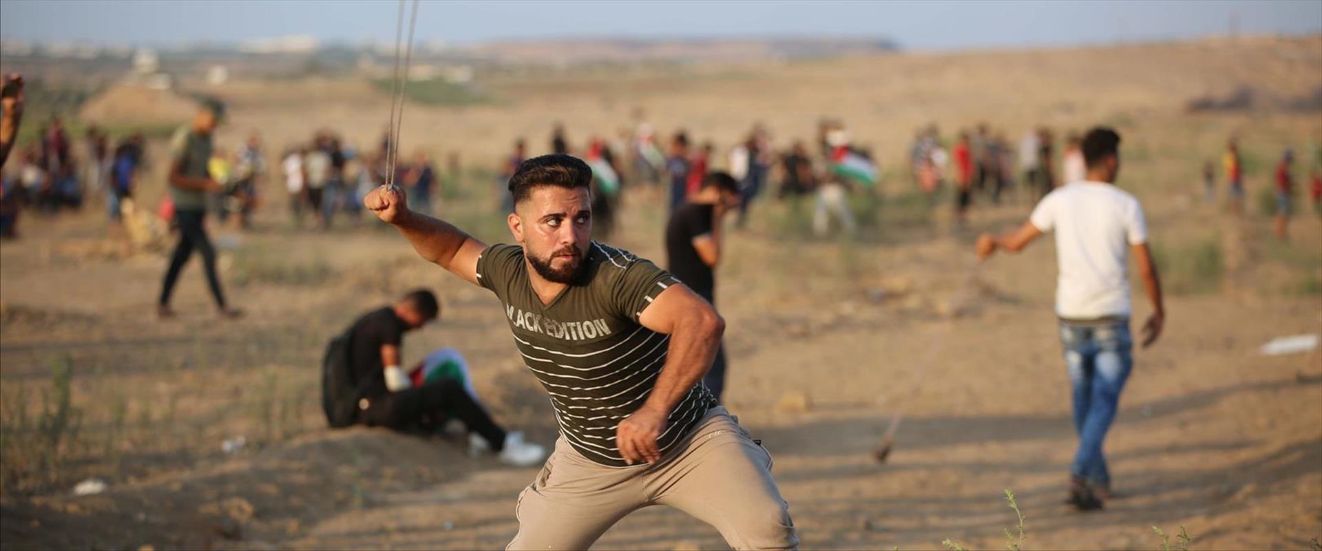 הפרות הסדר האלימות בגבול עזה
