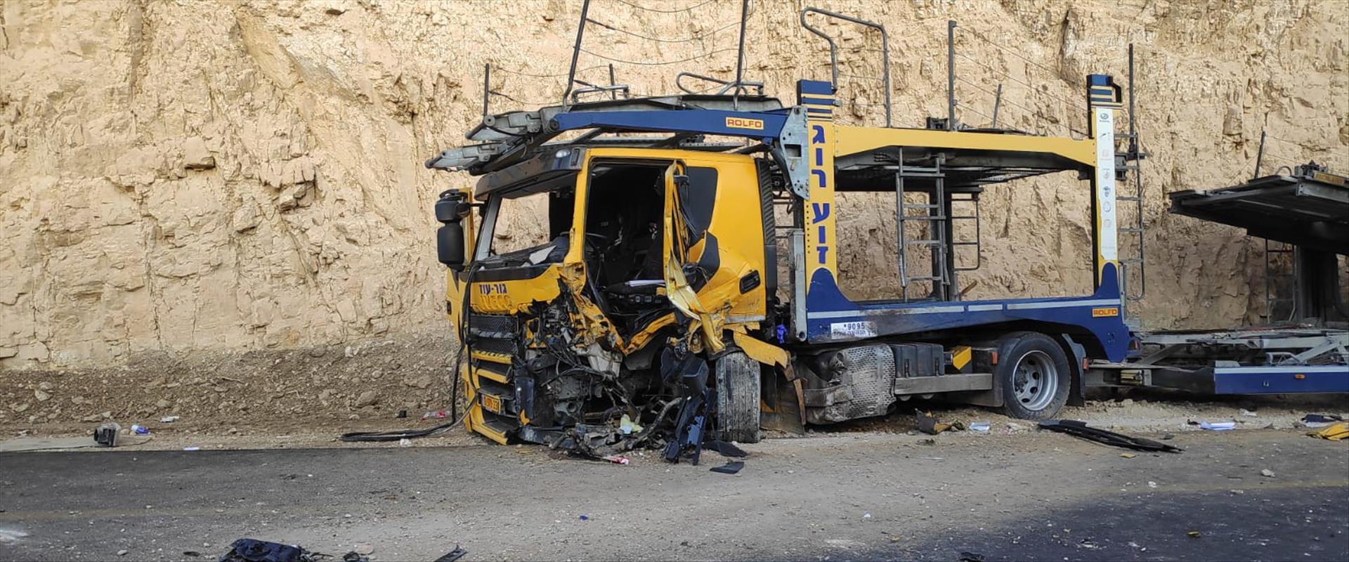 תאונת דרכים בצומת פארן בחודש אוקטובר