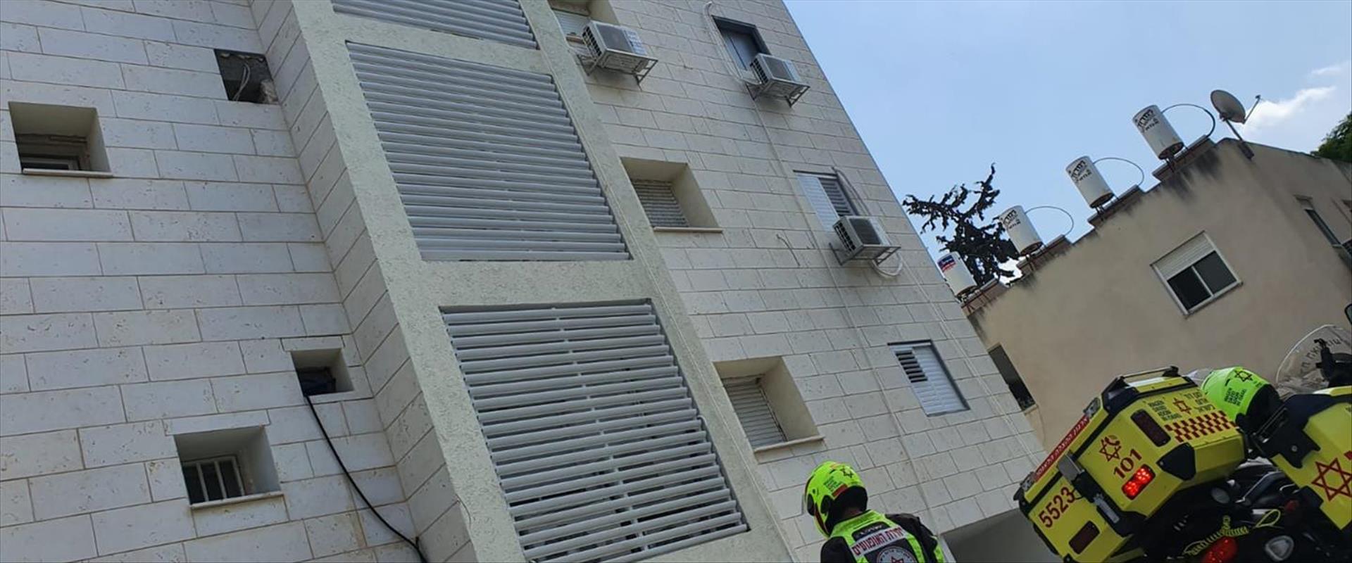 הבניין בו נהרג הפועל בקריית ביאליק, היום