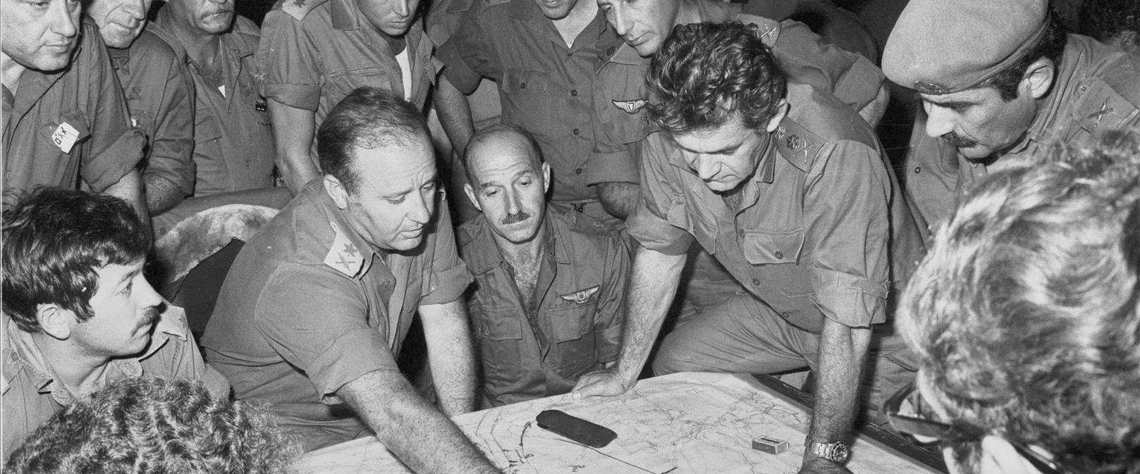 """הרמטכ""""ל בהתייעצות בפיקוד הצפון בזמן המלחמה"""