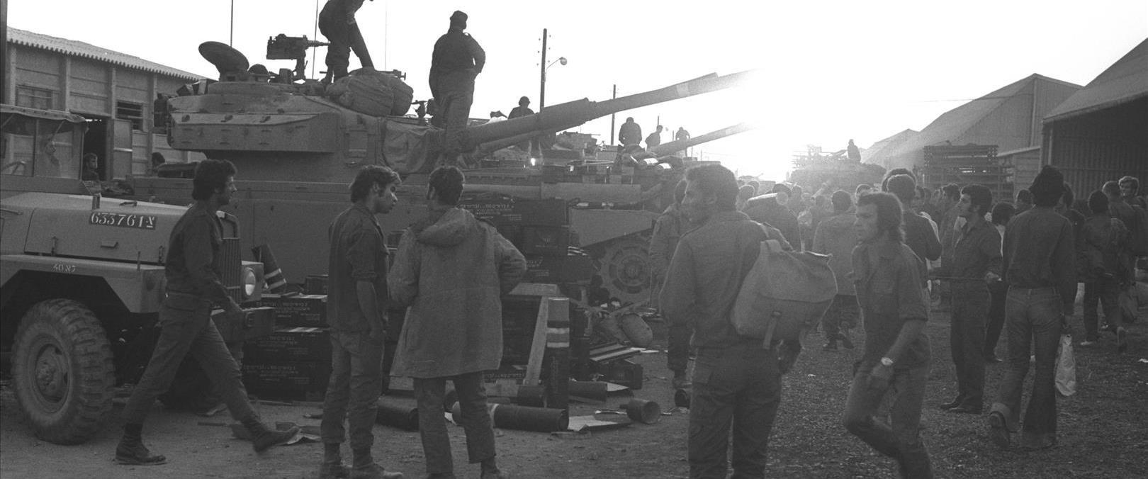 חיילים במלחמת יום הכיפורים