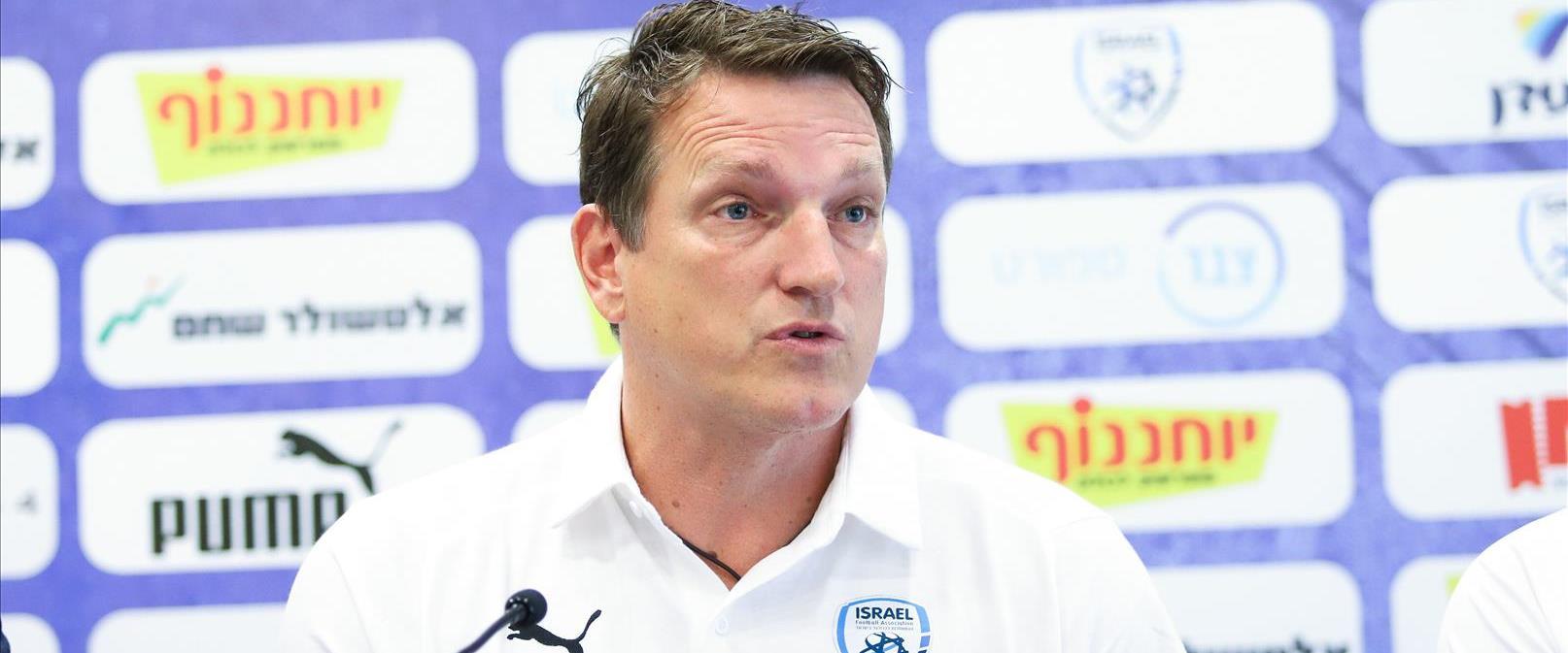 מאמן נבחרת ישראל אנדראס הרצוג