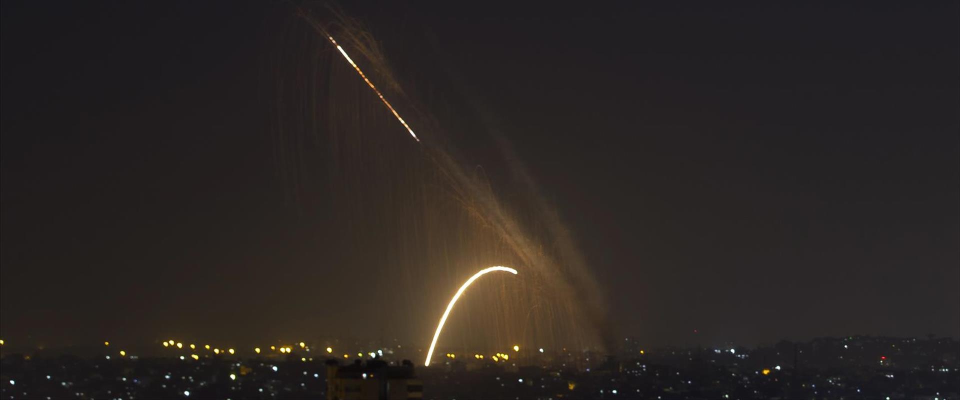שיגור רקטות מרצועת עזה בנובמבר