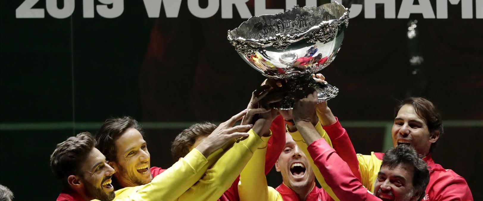 ספרד זוכה בגביע דיוויס