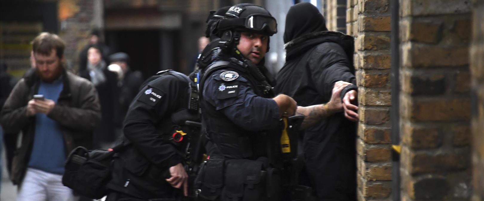 מעצר חשוד באירוע הדקירה בלונדון