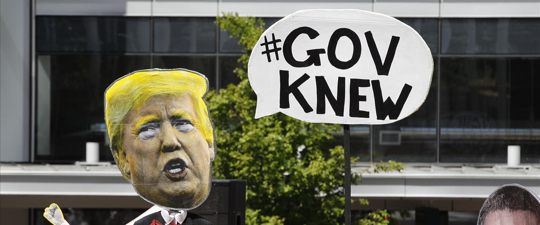 מחאת פעילי אקלים נגד טראמפ, ארכיון