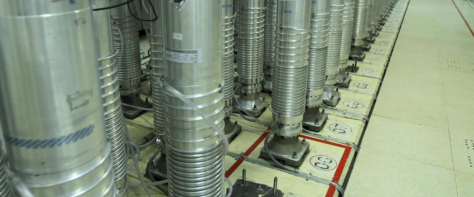 מתקן הגרעין בנתנז שבמרכז איראן, שלשום
