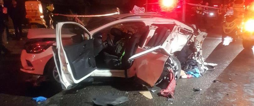 תאונה בכביש 443