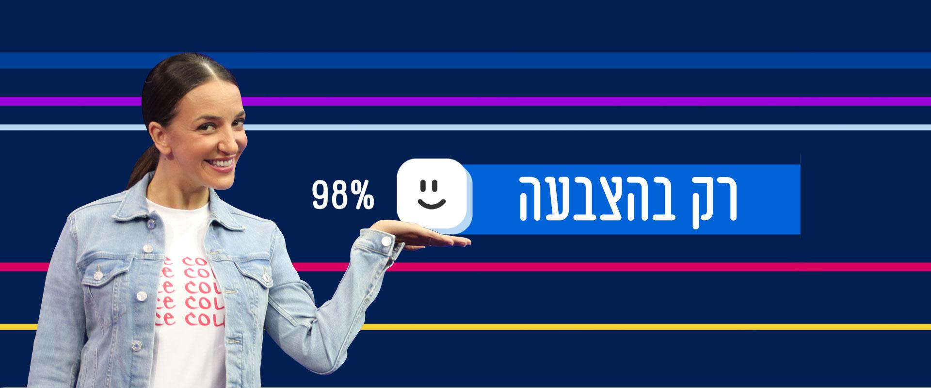 רק בהצבעה