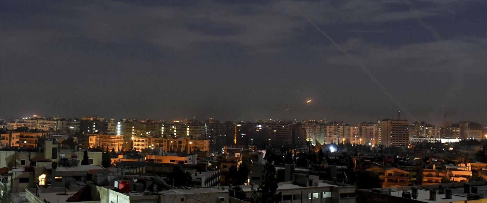 תקיפה ישראלית בסוריה ינואר 2019