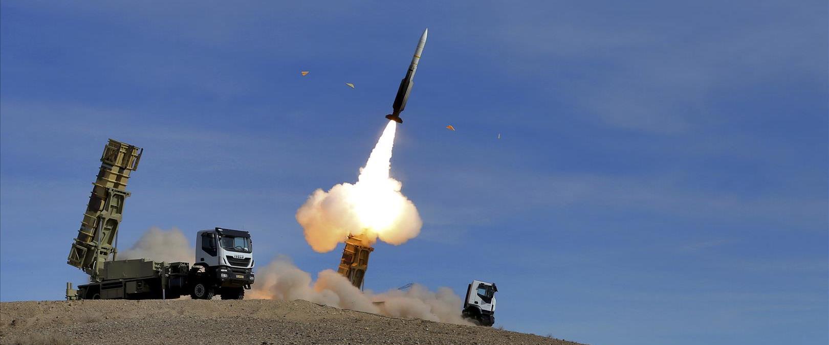 שיגור טיל איראני