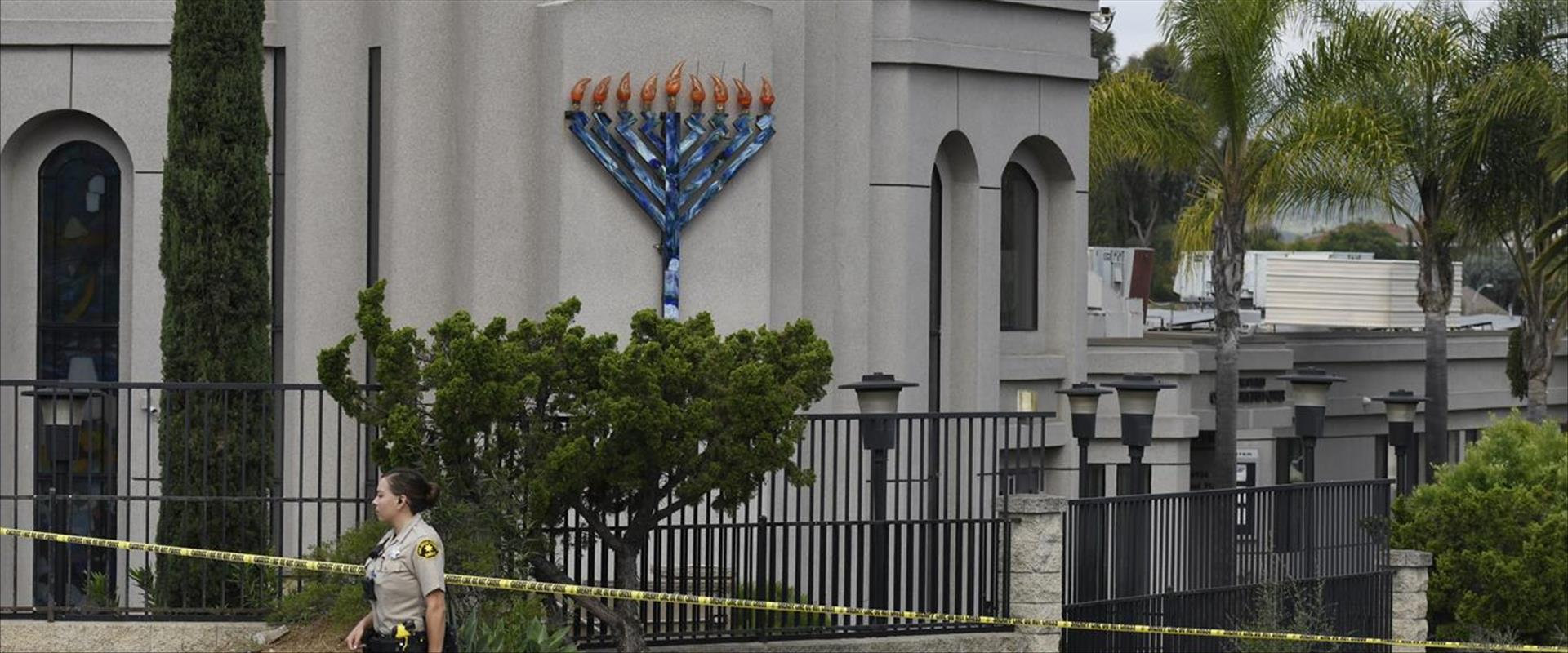 בית הכנסת בסאן דייגו, אפריל 2019