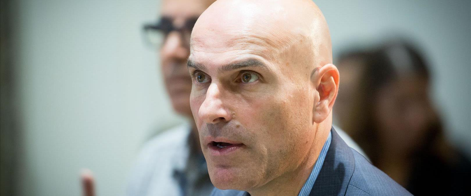 """יו""""ר לשכת עורכי הדין לשעבר אפי נוה, אוקטובר 2017"""