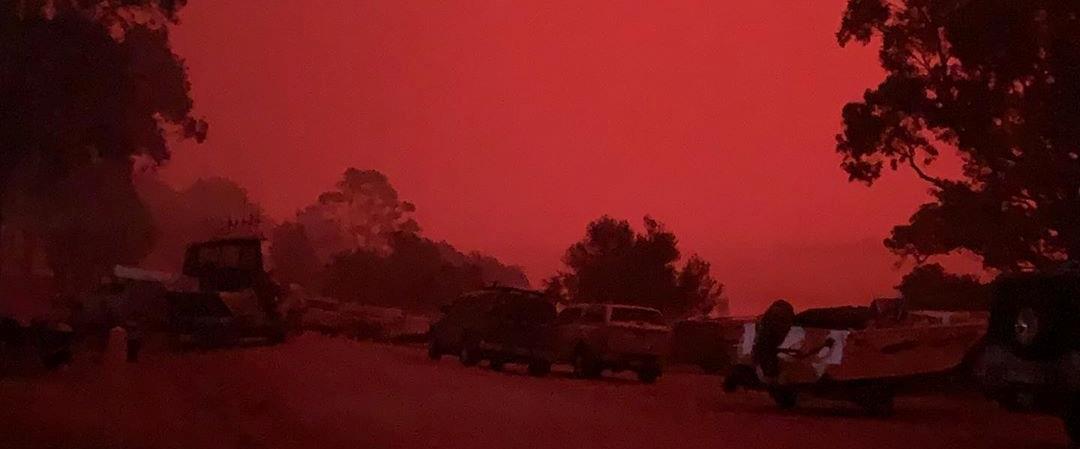 השמיים האדומים באוסטרליה