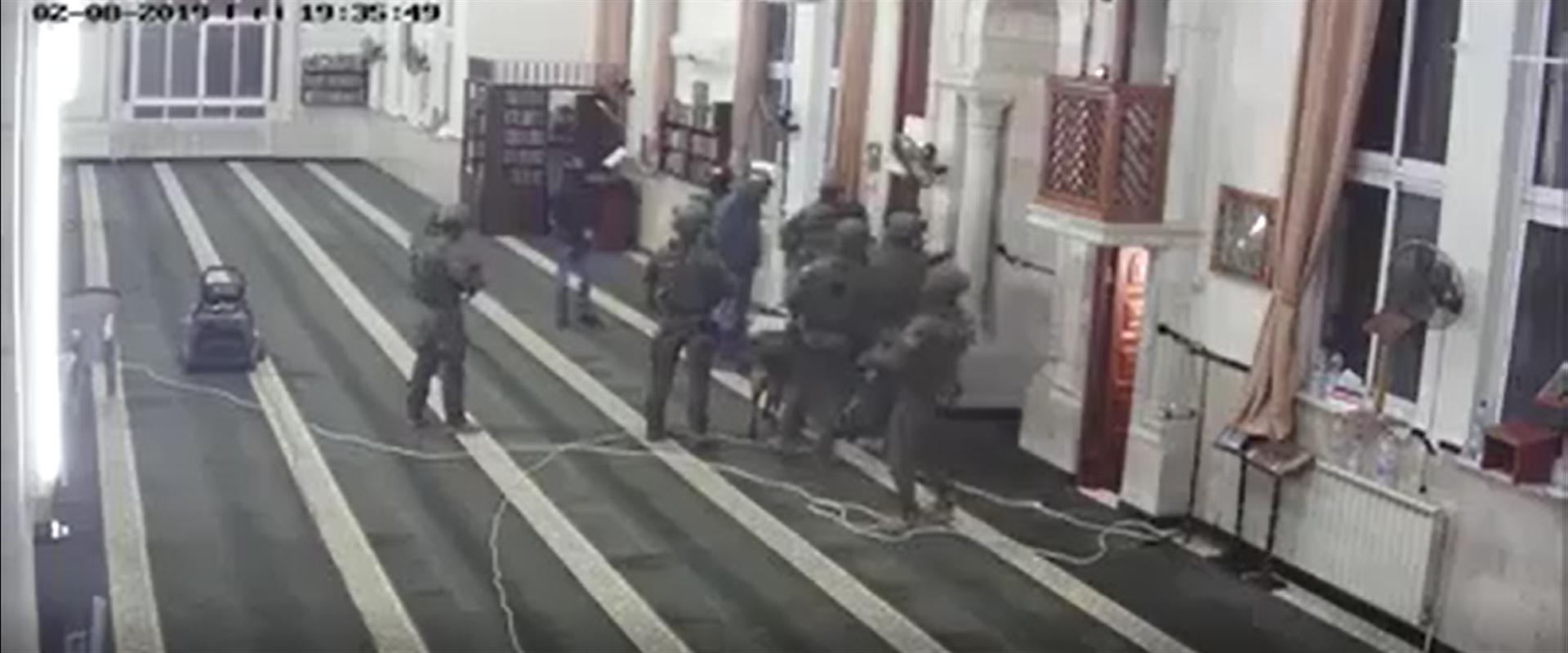 מתוך הסריקות במסגד עבד אל-נאסר ברמאללה