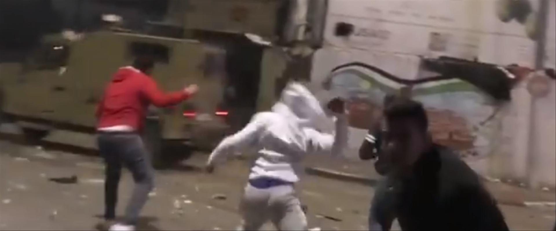 עימותים ברמאללה בעת מעצר החשוד ברצח אורי אנסבכר