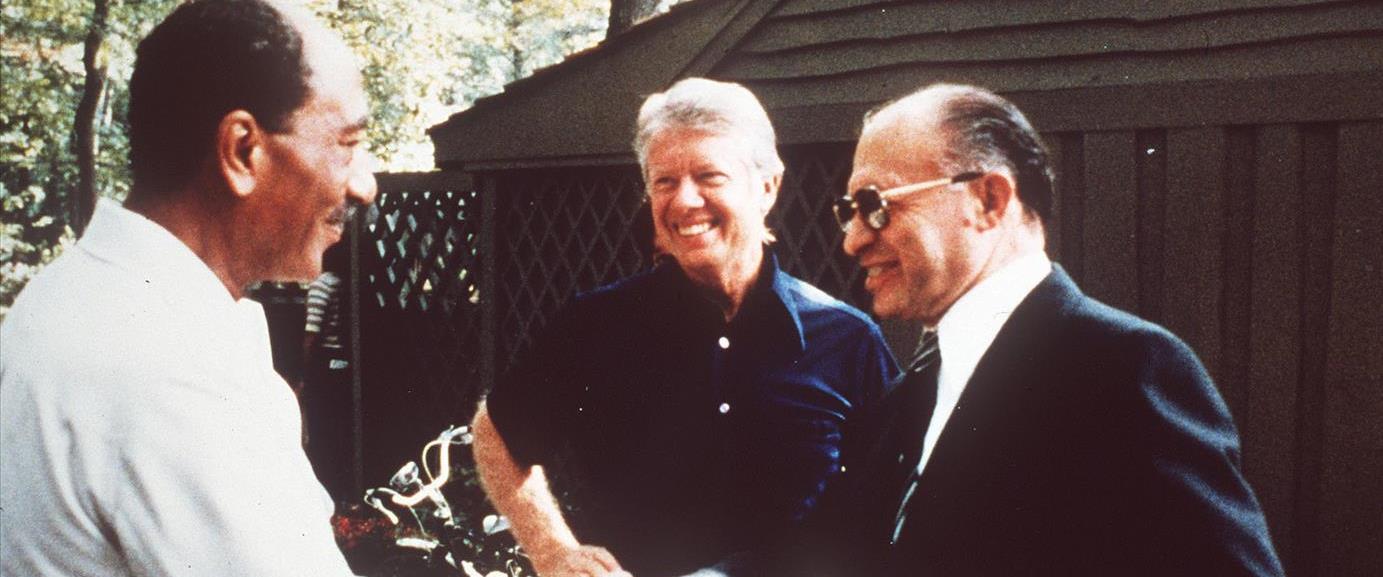 בגין, קרטר וסאדאת בקמפ דיוויד, ב-1978
