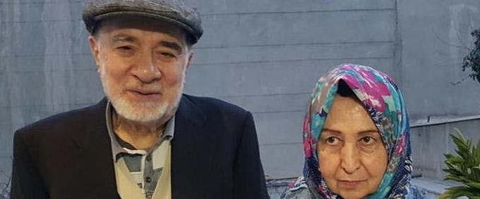 חוסיין מוסאווי ואשתו זהרה ראהנאווארד