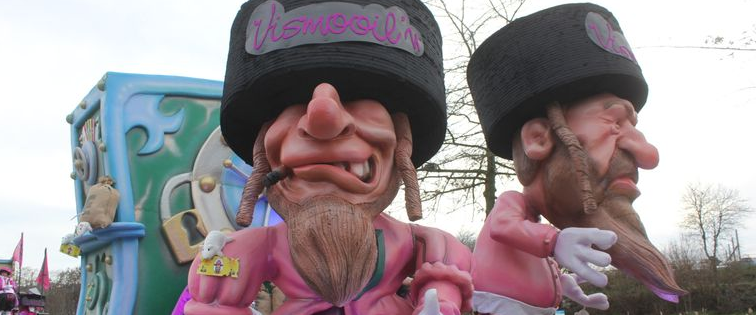מיצג אנטישמי במצעד בבלגיה, 2019
