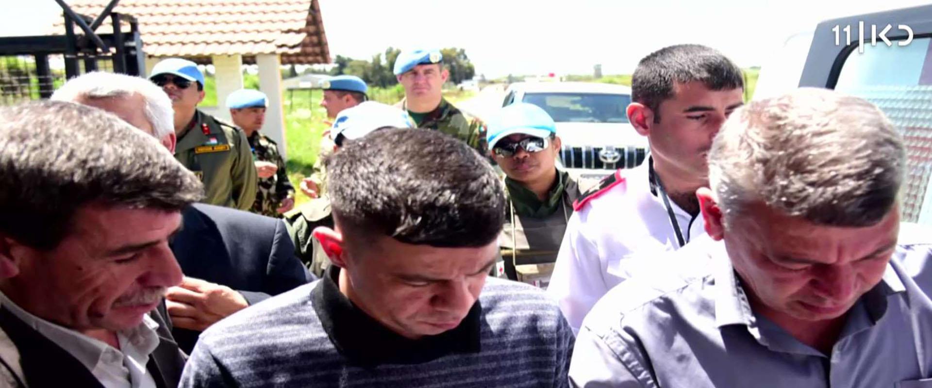 כך נראתה קבלת הפנים לאסירים הסורים ששוחררו