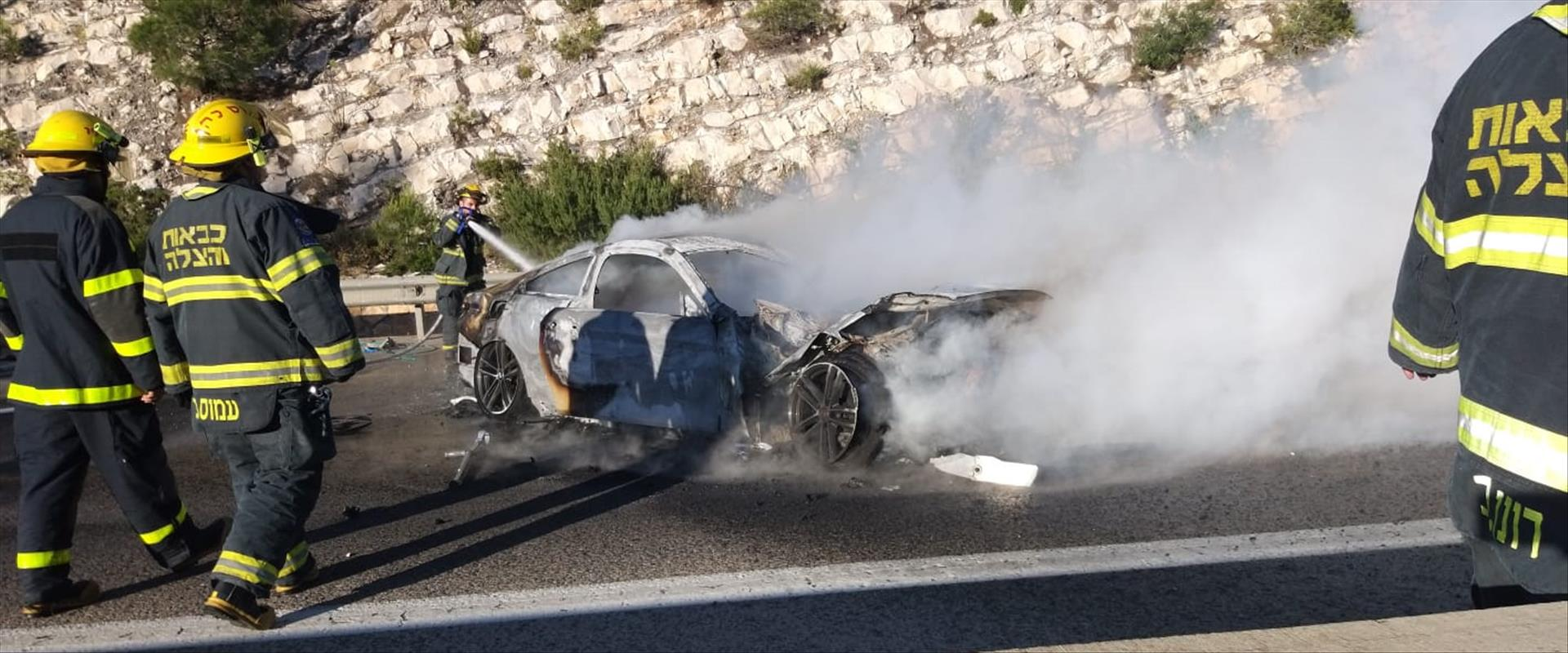 הרכב שהתפוצץ