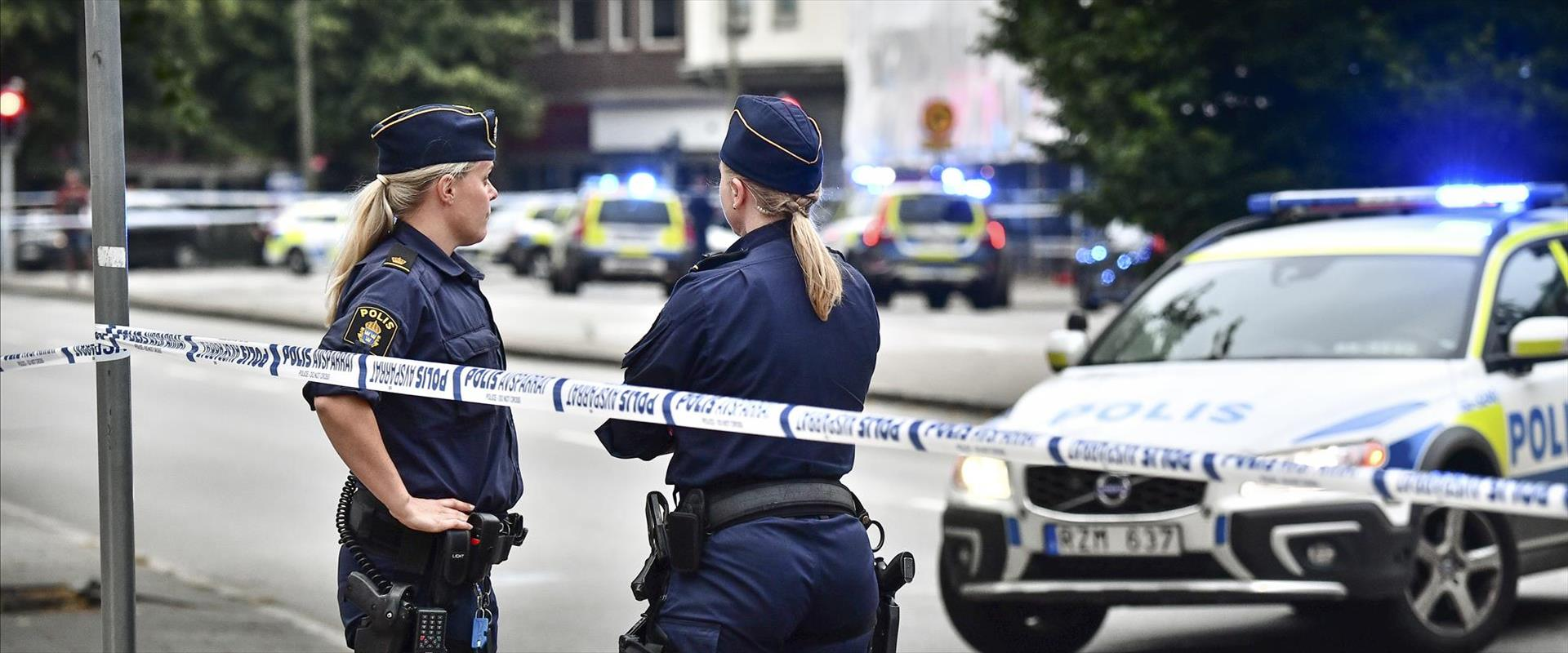 שוטרות בשוודיה