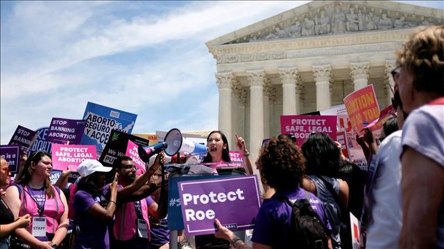 הפגנה נגד חוקי ההפלות בארה