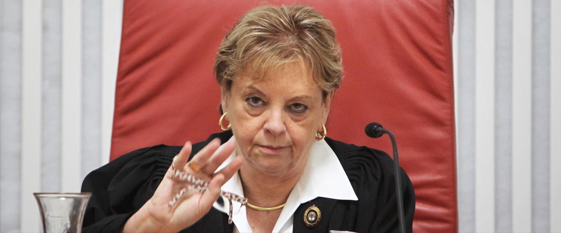 נשיאת העליון לשעבר דורית ביניש