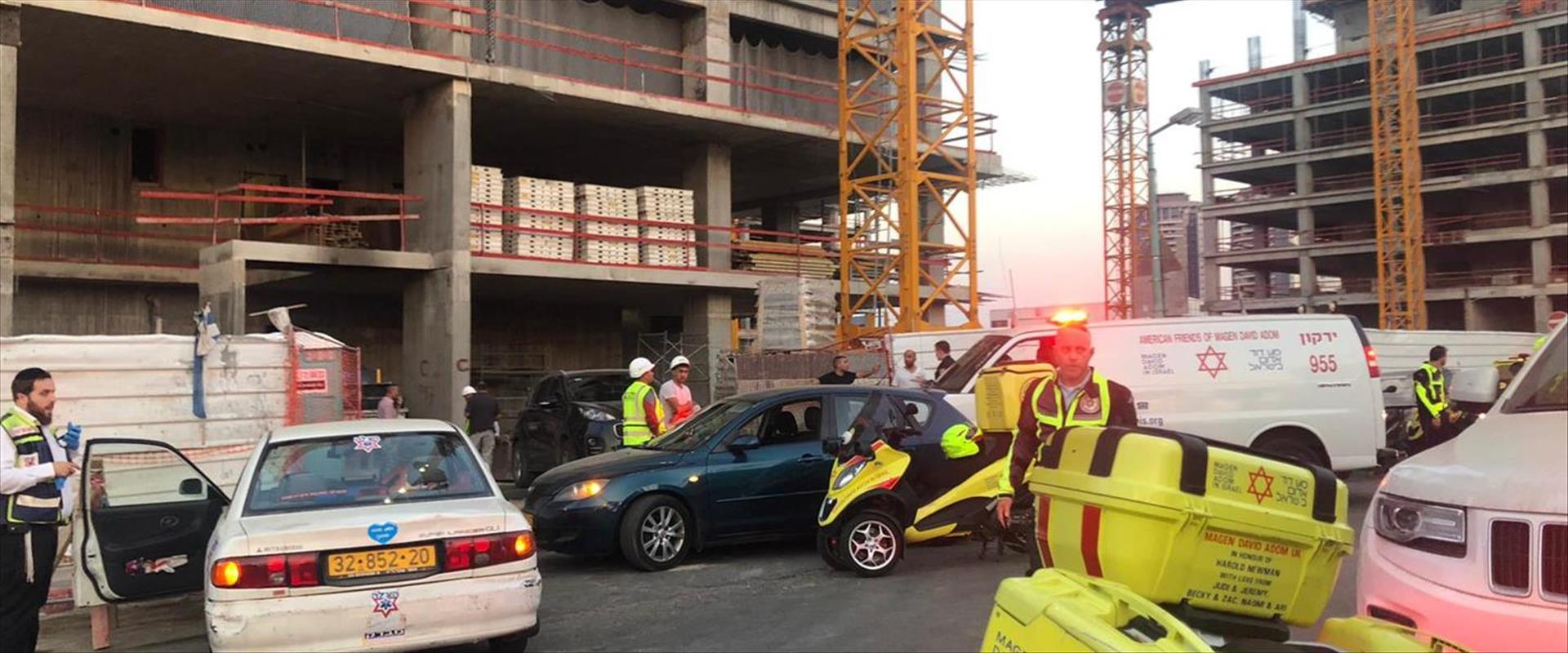 תאונה באתר בנייה