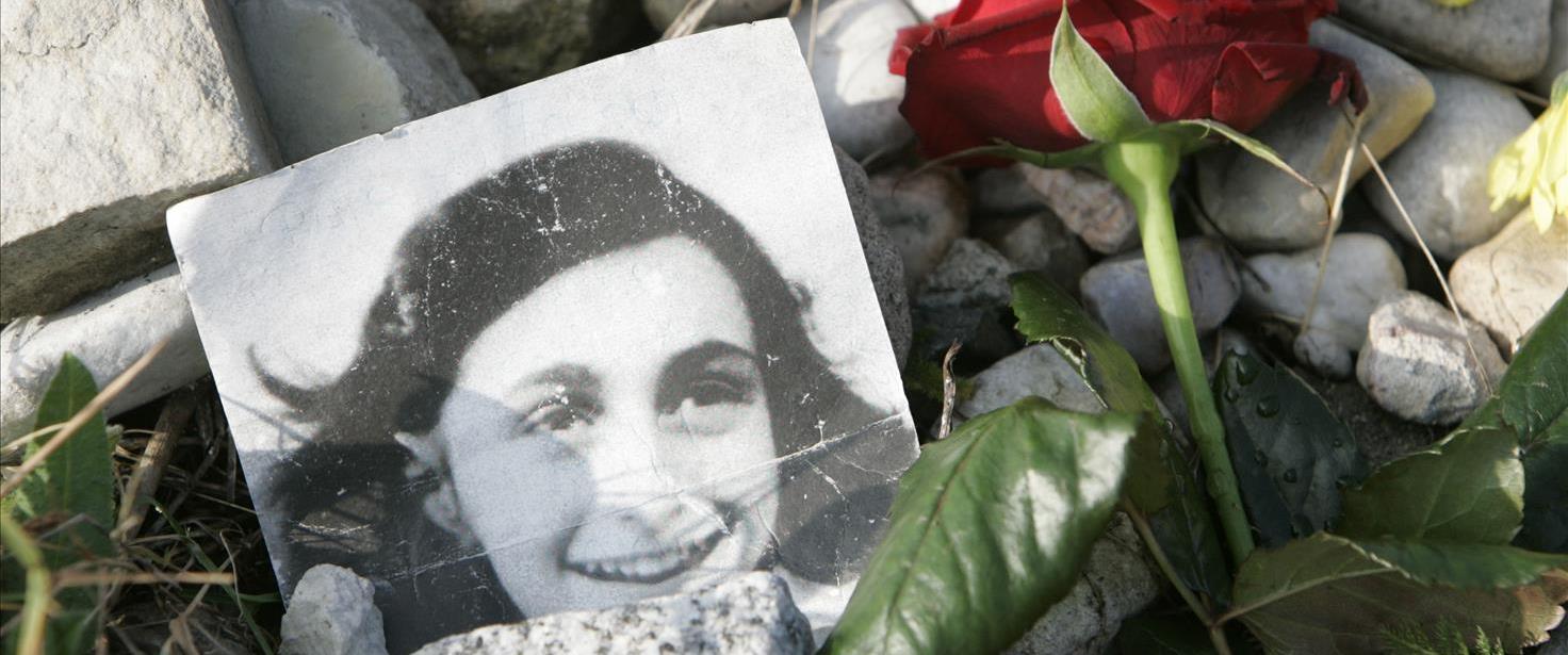 תמונה של אנה פרנק בברגן בלזן