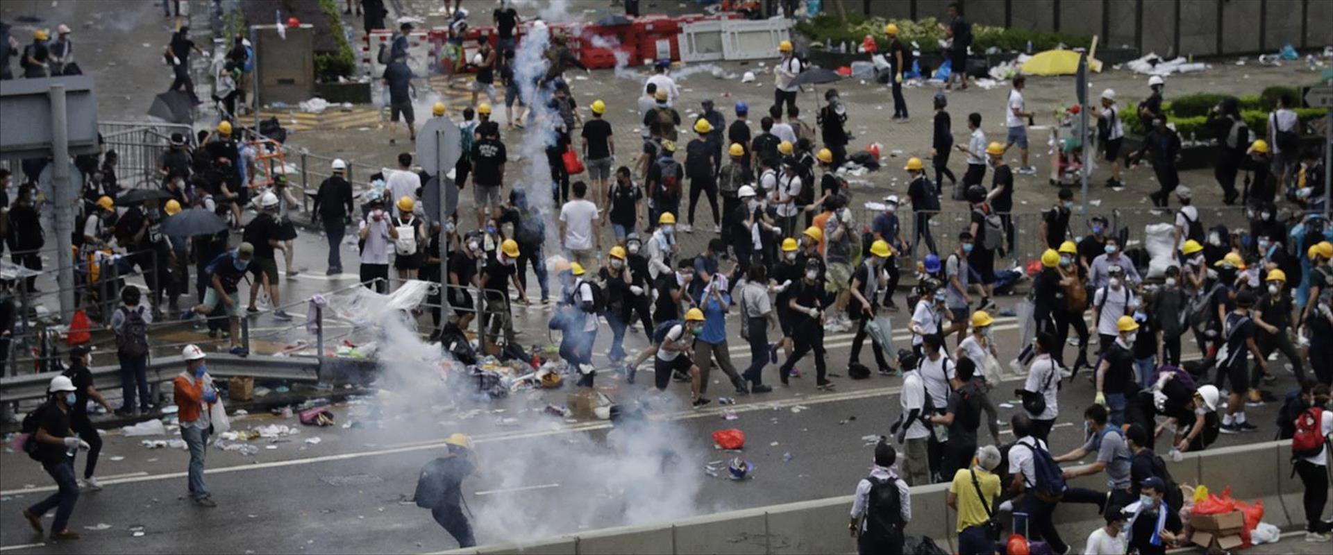 ההפגנות בהונג קונג נגד חוק ההסגרה לסין
