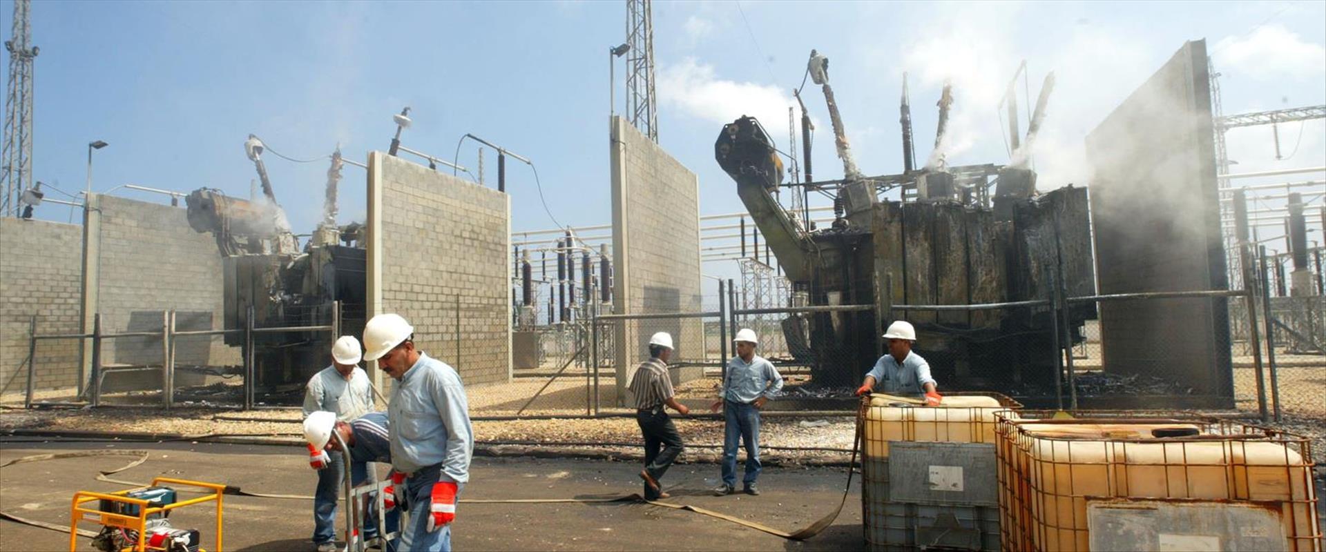 תחנת הכוח של חברת החשמל העזתית