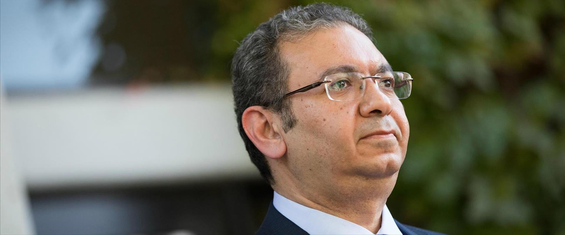 שגריר מצרים בישראל ח'אלד עזמי
