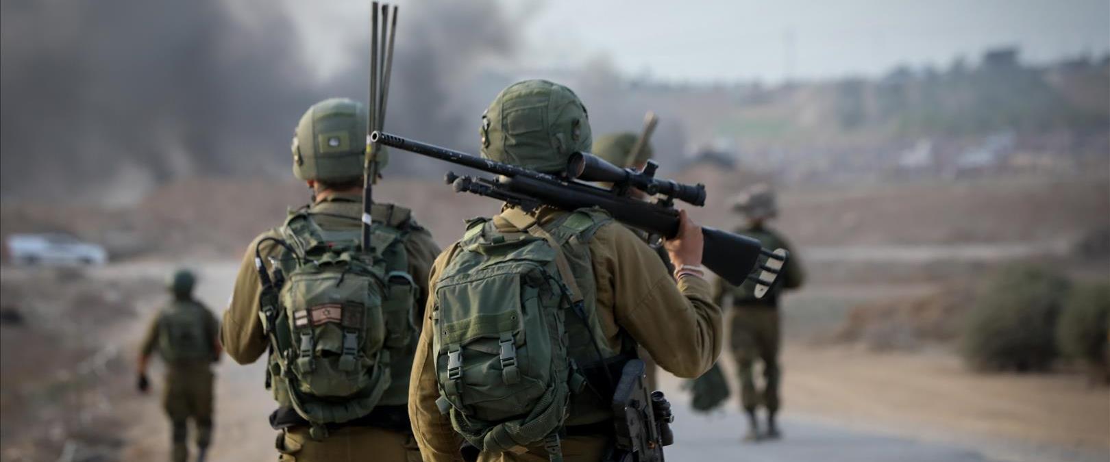 חיילים בפעילות. למצולמים אין קשר לידיעה